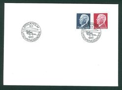 Sweden. FDC  King Gustaf 90th Year 1972. 75 Ore & 1Kr.  Engraver  Cz Slania - FDC