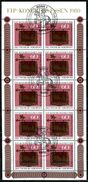 A00-31) BRD - 10x Michel 1065 = Kleinbogen - 5300 OO Gestempelt (D) - 60+30Pf  Tag Der Briefmarke 81 - [7] Repubblica Federale