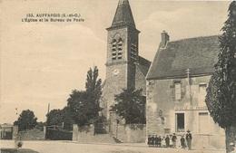 CPA Auffargis-L'église Et Le Bureau De Poste     L2391 - Auffargis