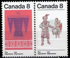 CANADA - Indiens Algonquins - Indiani D'America