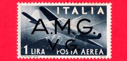Nuovo - MH -  ITALIA - Trieste AMG VG - 1946 -  Serie Democratica - Stretta Di Mano, Caproni-Campini 1 - 1 - P. Aerea - 7. Trieste