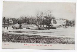 PINON - LE CHATEAU AVANT 1914 - FACE DU SUD - CPA NON VOYAGEE - France
