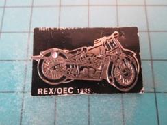 Pin1415b Pin's Pins / Beau Et Rare : MOTO REX / OEC 1935 - Motos
