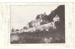 Kanne / Canne - Kasteel Van Neder-Canne / Château Neercanne - 1913 - Enkele Rug - Riemst
