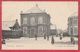 Denderleeuw - Gemeentehuis ... Geanimeerd  - 1908 ( Verso Zien ) - Denderleeuw