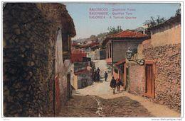 """SALONICCO:  QUARTIERE  TURCO  -  """" CENSURA  MILITARE """"  ARMEE  D' ORIENT  -  PER  L' ITALIA  -  FP  -  RRR - Grecia"""