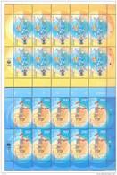 2002. Armenia, Europa 2002, 2 Sheetlets Of 10v,   Mint/** - Armenia