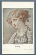 CPA - PORTRAIT DE JEUNE FILLE (GREUZE) - Malerei & Gemälde