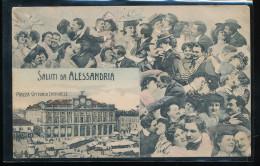 Italie -- Saluti Da Alessandria -- Piazza Vittorio Emanuele - Italia