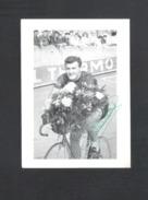 WIELRENNER - CYCLISTE - COUREUR  JOS WAUTERS - SOLO  - FOTOKAART  + HANDTEKENING (8957) - Cyclisme