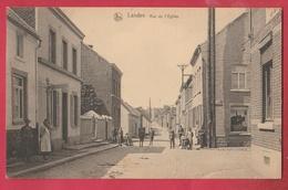 Landen - Rue De L'Eglise ... Geanimeerd - 1924 ( Verso Zien ) - Landen
