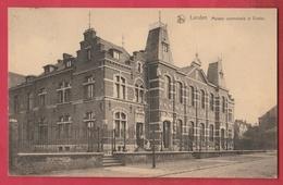 Landen - Maison Communale Et Ecoles - 1924 ( Verso Zien ) - Landen