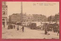 Leuven - Volksplaats - De Markt  ( Verso Zien ) - Leuven