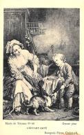 [DC10929] CPA - L'ENFANT GATE - GREUZE PINX MUSEE DE TOURNUS - Non Viaggiata - Old Postcard - Pittura & Quadri
