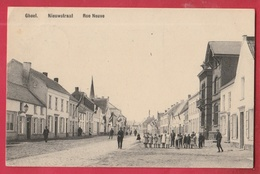 Geel - Nieuwstraat ... Geanimeerd - 1909 ( Verso Zien ) - Geel