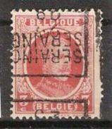 """Houyoux Nr. 192 Voorafgestempeld Nr. 4633  Positie D SERAING 29 Curiositeit """" DUBBELDRUK """" ; Staat Zie Scan ! - Rollini 1920-29"""