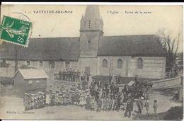 VATTETOT SUR MER, Sortie De La Messe - France