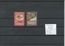 MALASIA YVERT 56/57    MNH  ** - Verano 1968: México