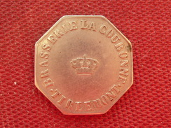 BELGIQUE Jeton Brasserie De La Couronne TIERLEMONT - Monetary / Of Necessity
