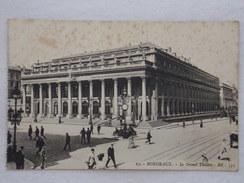 BORDEAUX - Le Grand Théâtre - CPA- CP- Carte Postale - Bordeaux