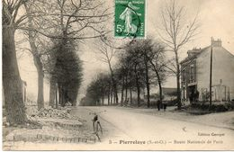 PIERRELAYE....route Nationale De Paris...edit Georget..no.3 - Pierrelaye