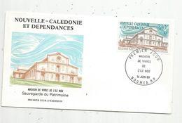 Timbre, FDC , 1 Er Jour , Nouvelle Calédonie Et Dépendances, Magasin De Vivresde L'île NOU,  NOUMEA, 1986 - Nouvelle-Calédonie