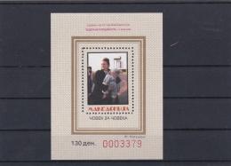 Macedonia Red Cross Souvenir Sheet MNH/** (H26) - Macédoine