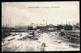 CPA ANCIENNE FRANCE- MONTATAIRE (60)- LES FORGES EN HIVER- NEIGE- GROS PLAN D'ENSEMBLE - Montataire