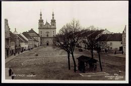 RPPC BREZNICE Březnice Bresnitz - Namesti Church Of St. Francis Xavier And St. Ignatius De Loyola (2590) - República Checa