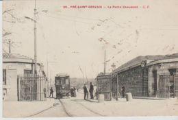 """75 ( 19eme  Pres St Gervais La ^porte Chaumont """"  ) - Arrondissement: 19"""
