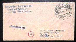 Deutsche Post Im Osten Feldpostbrief Aus Zakopane  (Distr. Krakau) Sonderstempel - Besetzungen 1938-45
