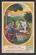Dieu Shiva Siva Histoire De L'Inde  -  Ancienne Carte Image Chromos Liebig - Liebig