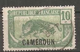 CAMEROUN - Yv. N°  88  (o) 10c  Cote  0,7 Euro BE - Cameroun (1915-1959)