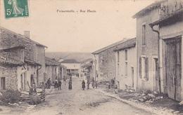 Frémeréville,rue Haute - France