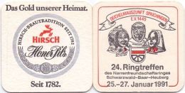 #D168-147 Viltje Hirsch Brauerei Tuttlingen - Sous-bocks