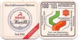 #D168-160 Viltje Hirsch Brauerei Tuttlingen - Sous-bocks
