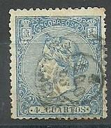 ESPAÑA 1867  Mi:ES 81,, Yt:ES 87,  Edi:ES 88 - Usati