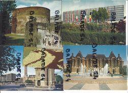 10 CPM -  LILLE (59) Foire Internationale, Vieille Tour, Palais Des Beaux-Arts, Monument Des Fusillés, Beffroi, Porte... - Lille