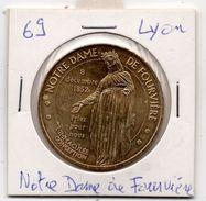 Lyon - 69 : Notre-dame De Fourvière (Monnaie De Paris, 2008) - Monnaie De Paris