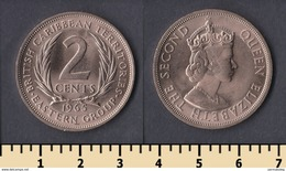 East Caribbean States 2 Cents 1965 - British Caribbean Territories