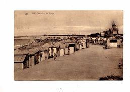 Carte Calais Plage Flamme - Calais