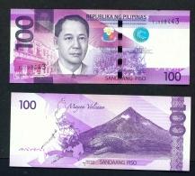 PHILIPPINES  -  2016  100 Pesos UNC - Philippines