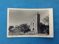 CARTOLINA FORMATO PICCOLO VIAGGIATA ENTEBBE UGANDA ROMAN CATHOLIC MISSION - Uganda