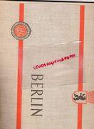 ALLEMAGNE - BERLIN- III WELTFESTSPIELE DER JUGEND UND STUDENTEN FUR DEN FRIEDEN 1951-EBERT PREFET -CENTRE DE LA PAIX - Books, Magazines, Comics