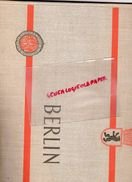 ALLEMAGNE - BERLIN- III WELTFESTSPIELE DER JUGEND UND STUDENTEN FUR DEN FRIEDEN 1951-EBERT PREFET -CENTRE DE LA PAIX - Livres, BD, Revues