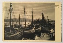 RITORNO DALLA PESCA 1934   VIAGGIATA FG - Pesca