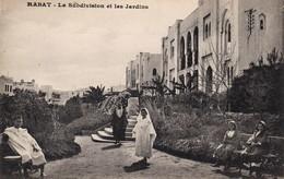 MAROC  Lot De 2 CPA - Rabat  Architecture - Subdivision Et Les Jardins . + Jardin D'essais  . Voir 2 SCANS - Rabat