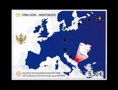 SERBIA MONTENEGRO (UNDER FACE VALUE) S/S EUROPA CEPT ANNIVERSARY ANNIVERSAIRE ANNIV ANNIV. 2005 2006 MNH - 2005