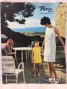 La Redoute à Roubaix - Printemps Été - 1967 - Mode