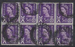 GB-Scotland 1958-70  3d (o) SG. S1/7 - Mi.1/7 - Regional Issues